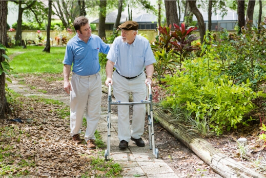 Providing Walking Assistance To Your Aging Dad With Parkinson's Disease