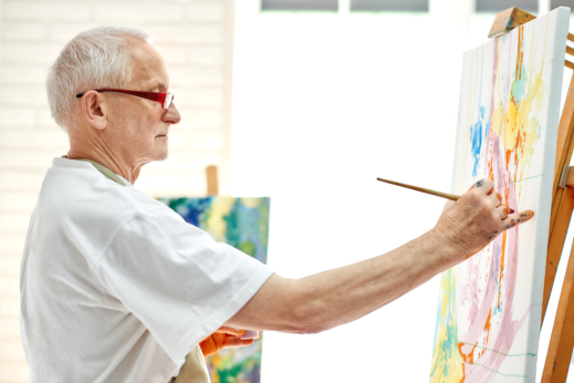 The Benefits of Art Therapy for Dementia Patients
